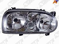 Фара VW GOLF III 91-97 1 лампа линза хрусталь