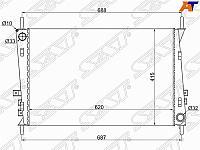 Радиатор JAGUAR X-TYPE 2.0 /2.0D /2.2 /2.5 /3.0 01-