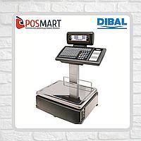 Весы с печатью этикеток Dibal M525D Alpha 6/15кг