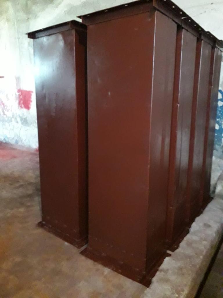 Короб нории (секция по 2 метра) производительностью 20,40,50,100,175,200 тн/ч