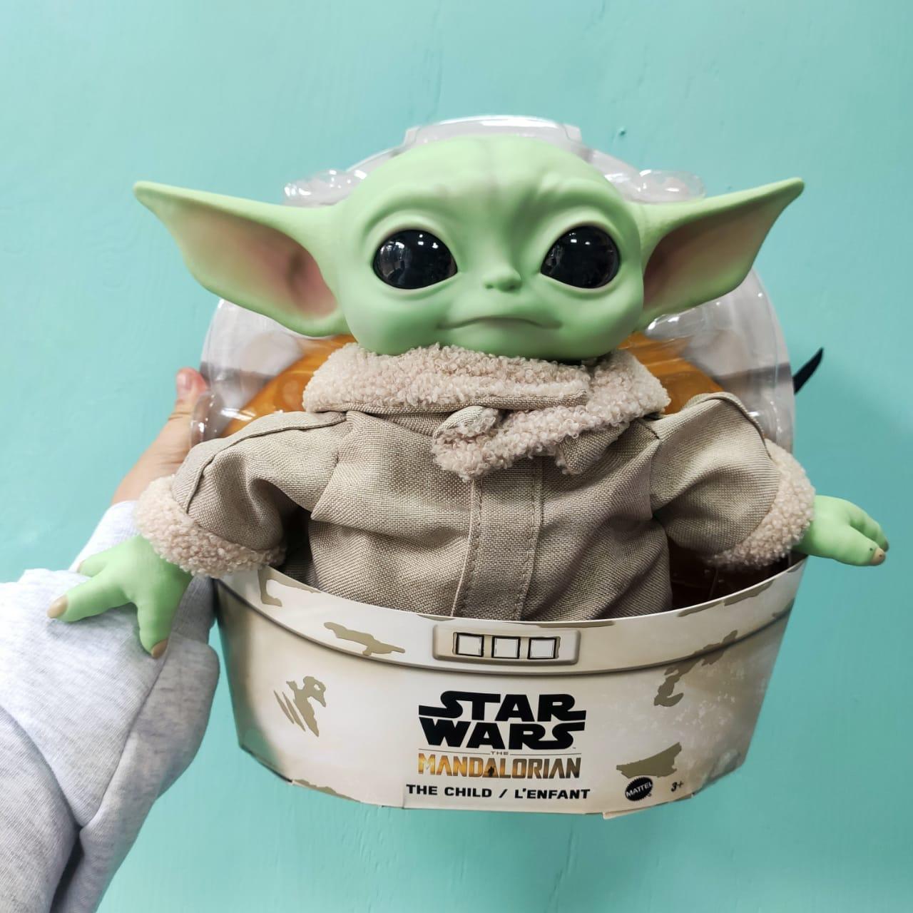 Коллекционная игрушка Mattel Baby Yoda (Бейби Йода, Грогу)