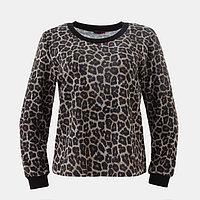 Бомбер MINAKU «Леопард», размер 42, цвет леопард