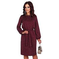 Платье женское «Эйдис», цвет вишня, размер 50