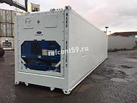 Рефконтейнер 40 футов Carrier 2007 г. в Нур-Султане №NARU8271203