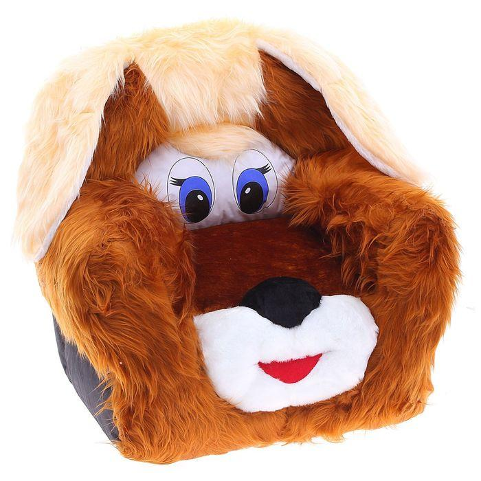 Мягкая игрушка «Кресло Пёсик», МИКС - фото 4