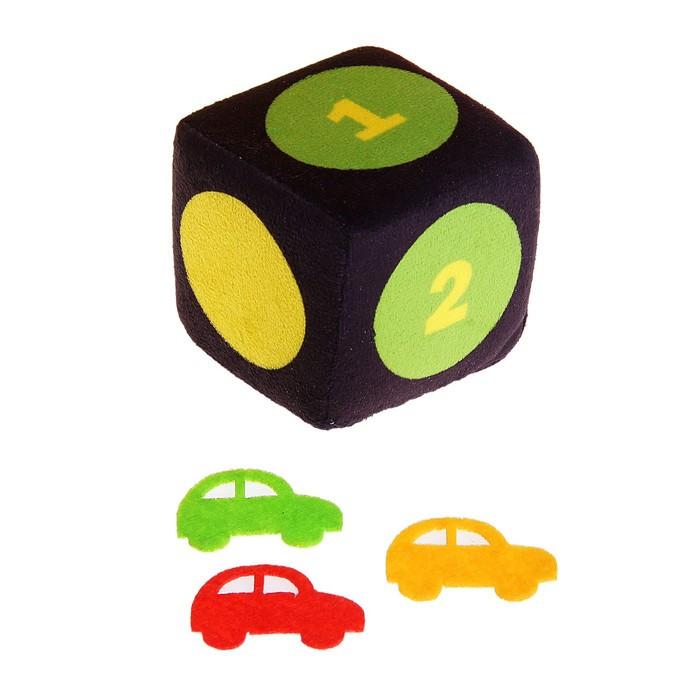 """Мягкая игрушка """"Кресло-кровать Светофор"""" с игральным кубиком - фото 2"""