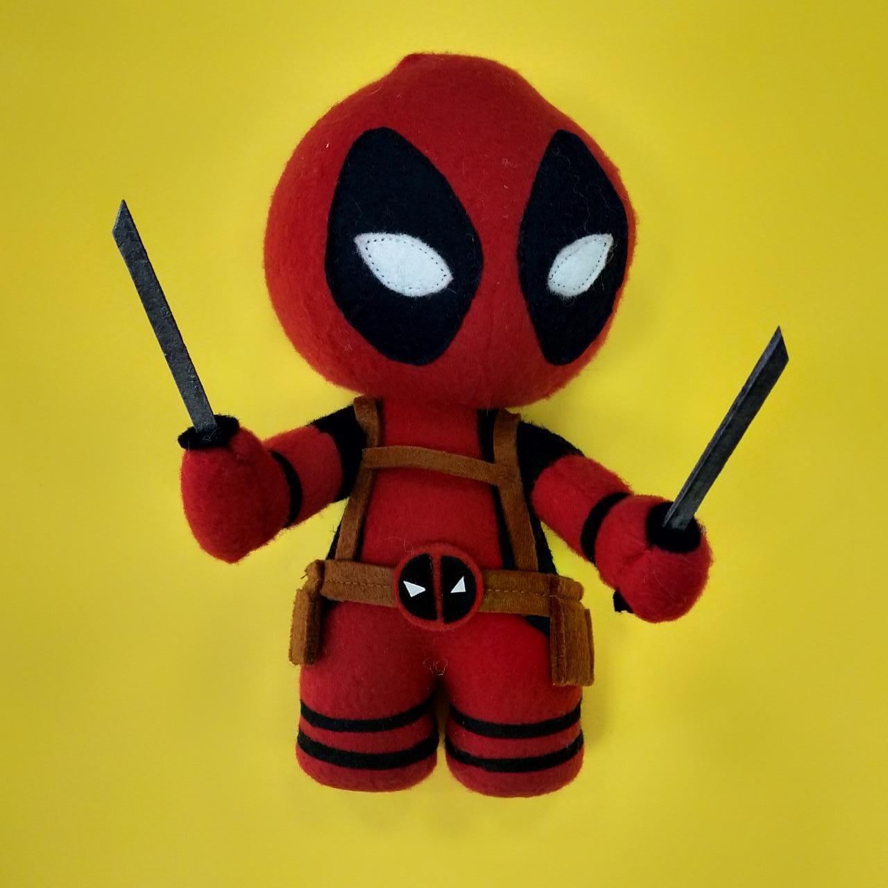 Мягкая игрушка Дедпул (Deadpool)