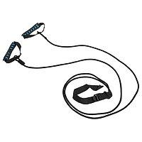 Эспандер лыжника, боксёра, пловца, удлиненный с жёсткими ручками, 26-07