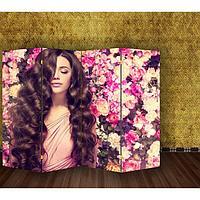 """Ширма """"Аромат цветов"""", 200 × 160 см"""