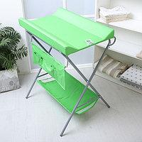 Пеленальный столик «Фея», складной, цвет зелёный