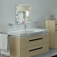 Зеркало в ванную комнату 60×45 см Ассоona A618, 1 полка