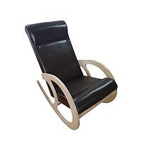 Кресло-качалка София, 530х1000х850, Темный/ Дуб млечный