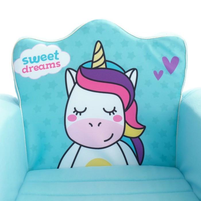 Мягкая игрушка-кресло «Единорог», цвета МИКС - фото 5