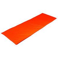 Мат мягкий, oxford, 145х52х2 см, цвет синий/оранжевый