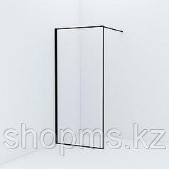 Душевая перегородка Walk In, черный (900*1950) Slide, IDDIS, SLI8BS9i23
