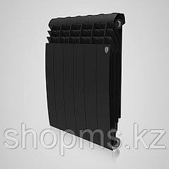 Радиатор алюминиевый Royal Thermo DreamLiner (Biliner Alum) 500 - 12 секц. Noir Sable 182 Вт/сек.