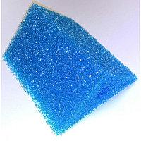 Губка треугольная запасная синяя для фильтра №24(8х8х11х12 см)