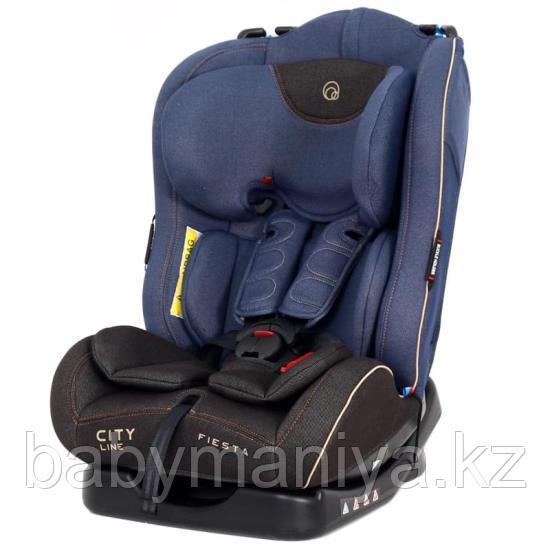 """Автокресло для детей 0-25 кг 1029A Rant """"Fiesta"""" City Line (Jeans) от 0-7 лет, группа 0/1/2"""