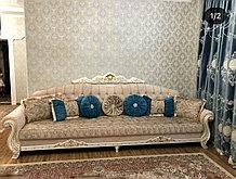 Каролина диван 3D подлокотниками