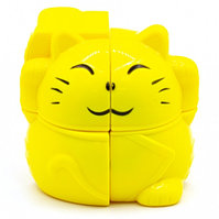 Кубик-головоломка YJ 2X2 PLUTUS CAT, фото 1