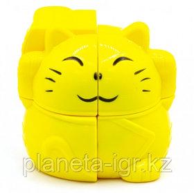 Кубик-головоломка YJ 2X2 PLUTUS CAT