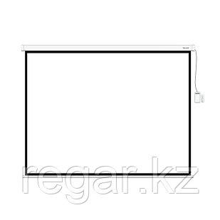 Экран моторизированный (с пультом Д/У) Deluxe DLS-ERC508х381W, Раб. поверхность 500x375 см., 4:3