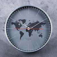 Часы настенные, серия Интерьер 'Материки', d30.5 см