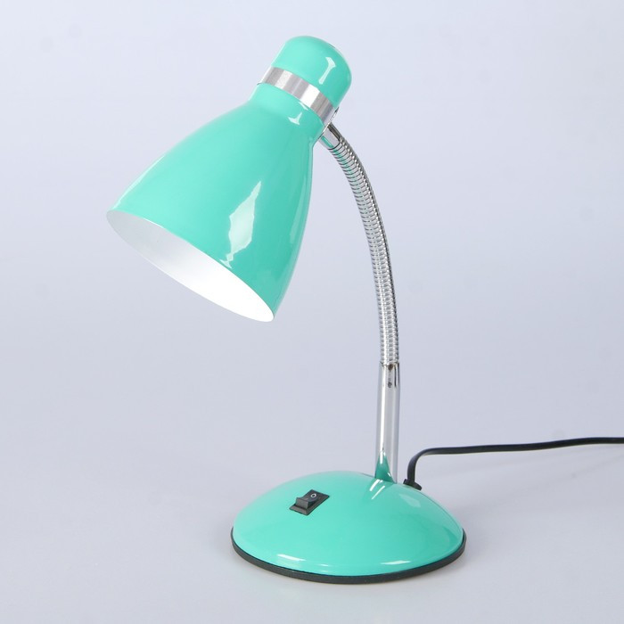 "Настольная лампа ""Элегия"" 1x60W E27 зеленая 14,5x14,5x41см"
