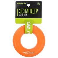 Эспандер кистевой 8,5 см, нагрузка 35 кг, цвет оранжевый