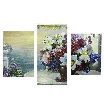 "Картина модульная на подрамнике ""Букет цветов"" 99x65 см. (33х45, 33х50, 33х65)"