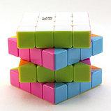 Кубик рубика 4х4х4 Moyu YUSUR Jongjun цветной, фото 4