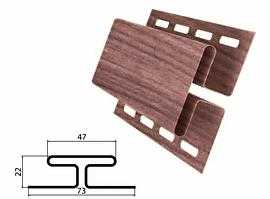 Профиль H соединительный Рябина 3000 мм Grand Line TUNDRA