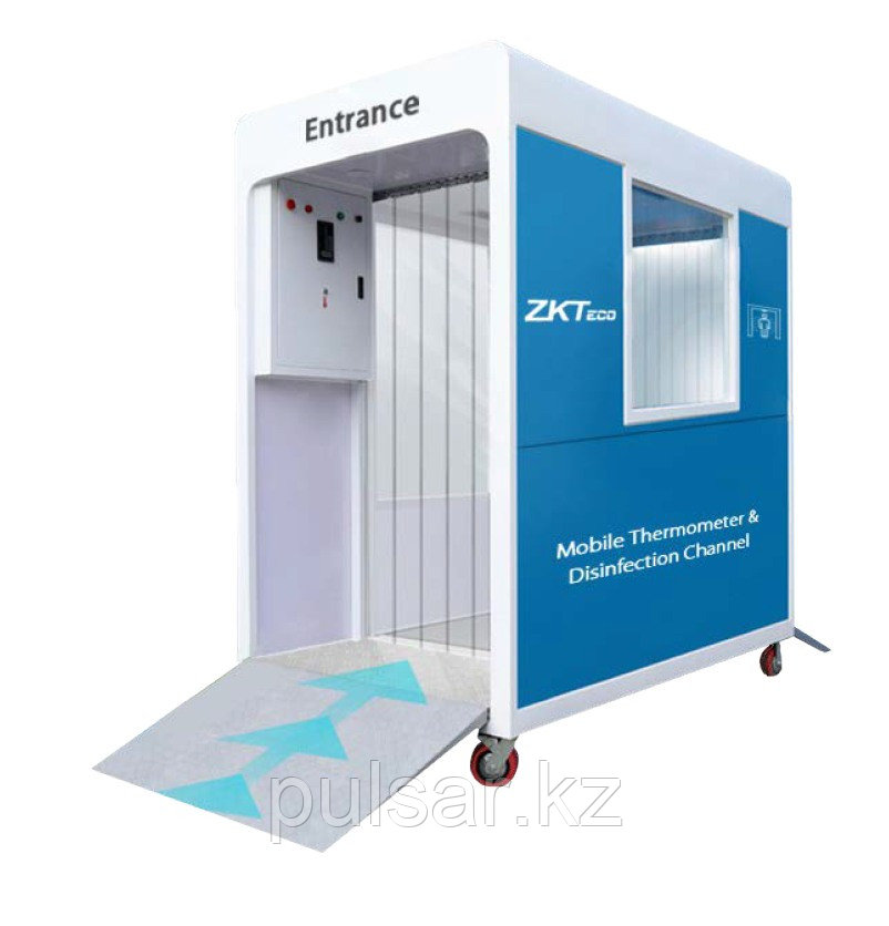 Дезинфекционный канал с измерением температуры тела ZKTeco TD-Channel 95