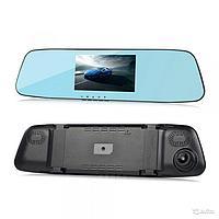 Видеорегистратор - зеркало сенсорный L 505 C с двумя камерами, фото 1