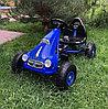 Педальный картинг Retro синий
