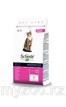 Schesir, Шезир сухой корм для кошек с ветчиной от 1 года до 7 лет 400 гр