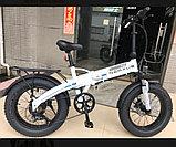 """48v 350w, аккум. Li-ion 48v 10 A/H. Электровелосипед складной. Колеса 20*4""""., фото 2"""
