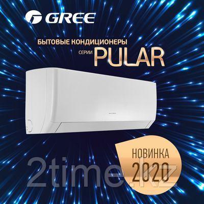 Кондиционер настенный Gree-12: Pular (без инсталляции) до 35 кв.м