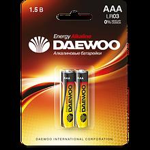 Батарейки DAEWOO LR03EA-2B