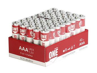 Батарейка алкалиновая Smartbuy ONE LR03/40 bulk Eco