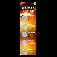 Батарея литиевая таблеточная DAEWOO CR2032Li-5B