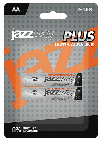 Батарейки JAZZWAY LR6UP-2B