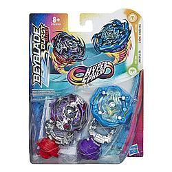 Hasbro Bey blade Гиперсфера Игровой набор 2 волчка (Кракен K5 и Гаргулья G5)