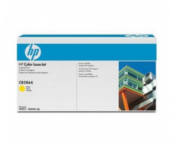 Картридж лазерный HP CB386A, Жёлтый, на 35000стр для Color LJ CM6030/CM6030f/CM6040/CM6040f/CP6015dn