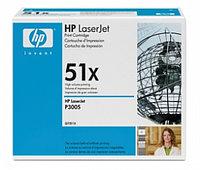 Картридж лазерный HP черный (13000 копий) для LaserJet-M3027 - M3035 - P3005. Количество страниц (ч-