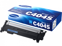 Картридж Samsung CLT-C404S (ST974A), 1000 страниц, голубой