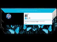 Картридж HP C4931A, №81, голубой, 680 мл.