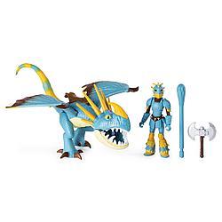 Как приручить дракона - Фигурка дракона Громгильда и Астрид, 17 см