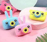 Детский цифровой мини фотоаппарат GSMIN Fun Camera Мишки