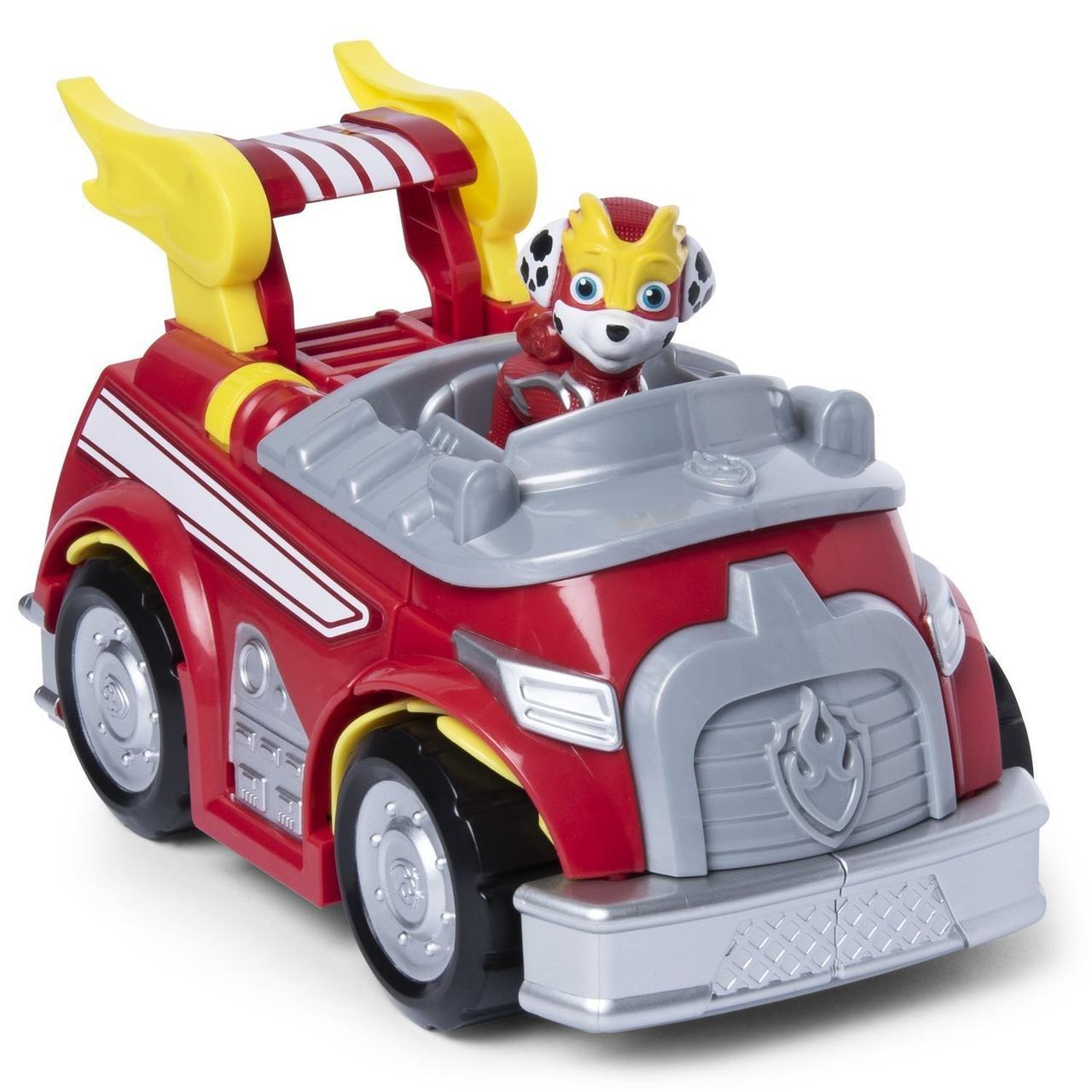 Paw Patrol Мега Щенки, Пожарная машина - трансформер Маршала (Щенячий патруль)